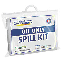 Lubetech  20Ltr Black & White Oil Spill Response Kit