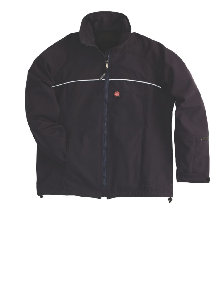 Gore-Tex Windstopper Energy Soft Shell Jacket Navy Large 42-44""