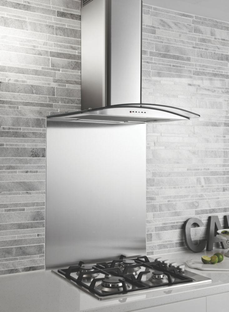 Chimney Cooker Hood Stainless Steel 600mm