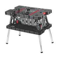 Forge Steel Folding Workbench
