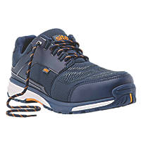 Site Agile Sports Style Safety Trainers Blue  Size 7