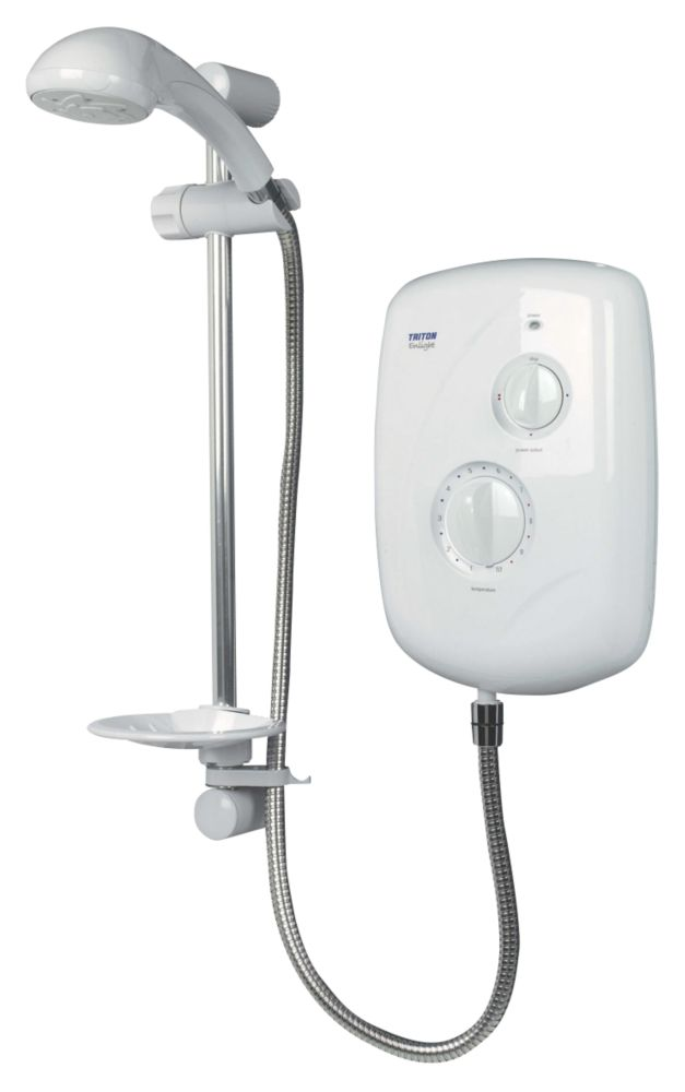 Triton Enlight Electric Shower White 8.5kW