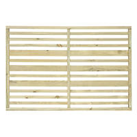 Grange Timber Urban Garden Screen Panel Natural 1.2 x 1.8m 3 Pack