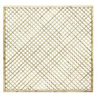 Grange Alderley Fence Panels 1.83 x 1.8m 4 Pack