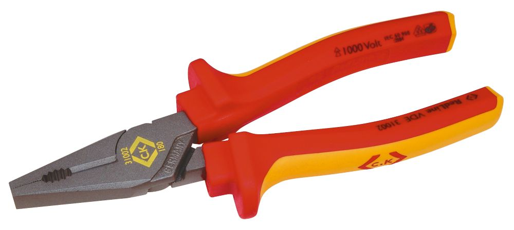 C.K VDE Combination Pliers 185mm