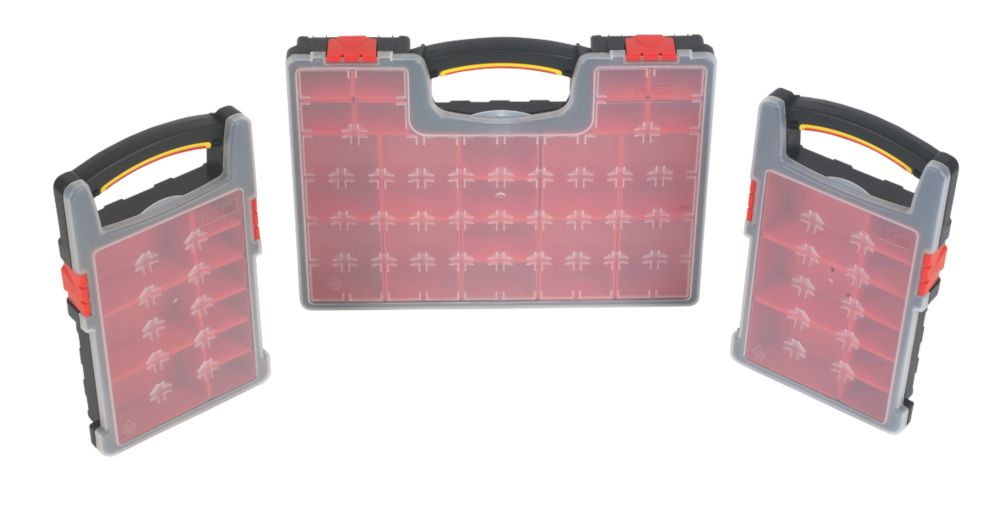 Forge Steel Organiser Set 3Pcs