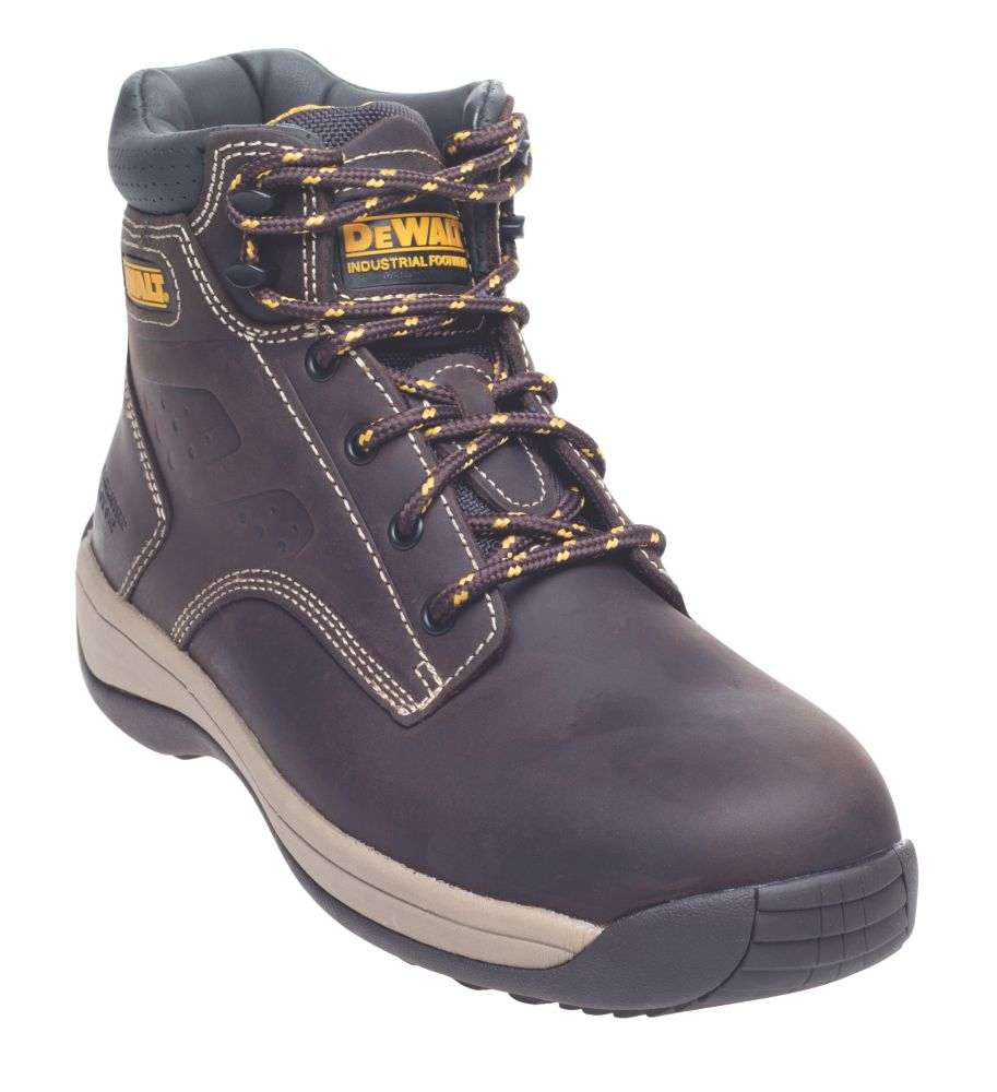 DeWalt Bolster Safety Boots Brown Size 8