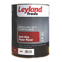 Leyland Trade Anti-Slip Floor Paint Slate 5Ltr