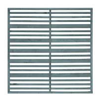 Grange Timber Urban Garden Screen Panel Heritage Blue 1.8 x 1.8m 3 Pack