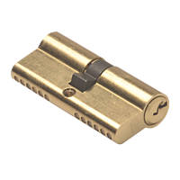 Union 6-Pin Euro Cylinder Lock 35-35 (70mm) Brass