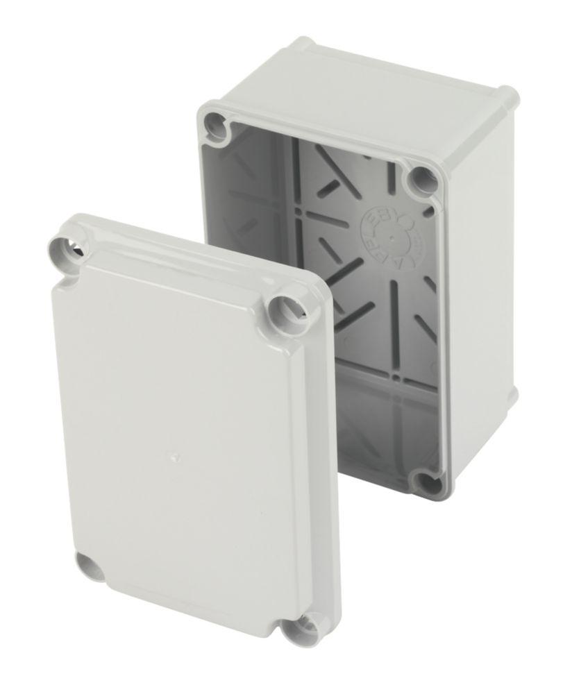 Appleby Grey IP66 Moulded Enclosure 160 x 92 x 110mm