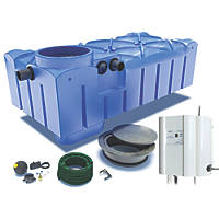 FloPlast StormSaver Rainwater Harvesting System 3000Ltr
