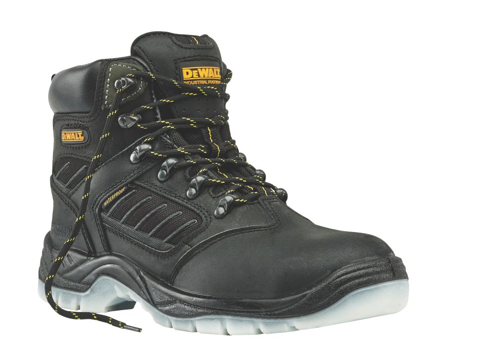 DeWalt Recip Waterproof Safety Boots Black Size 10