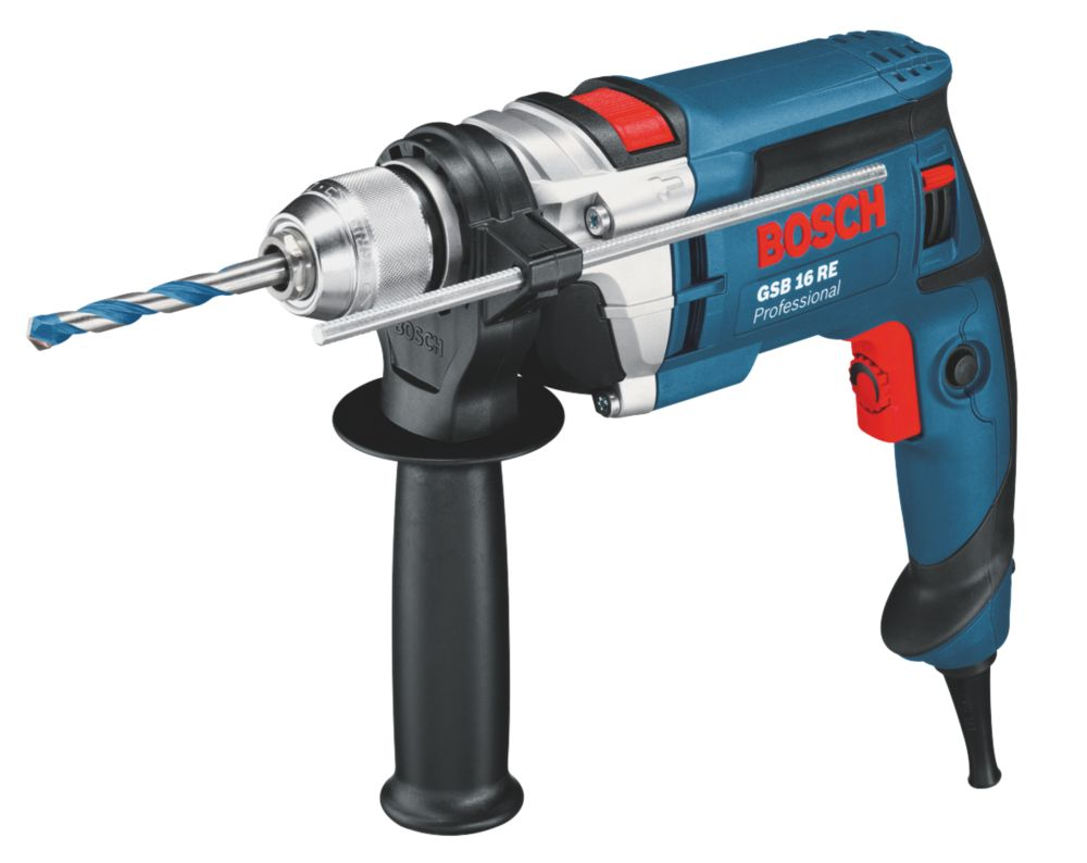 Bosch GSB 16 RE 750W Professional Percussion Drill 240V