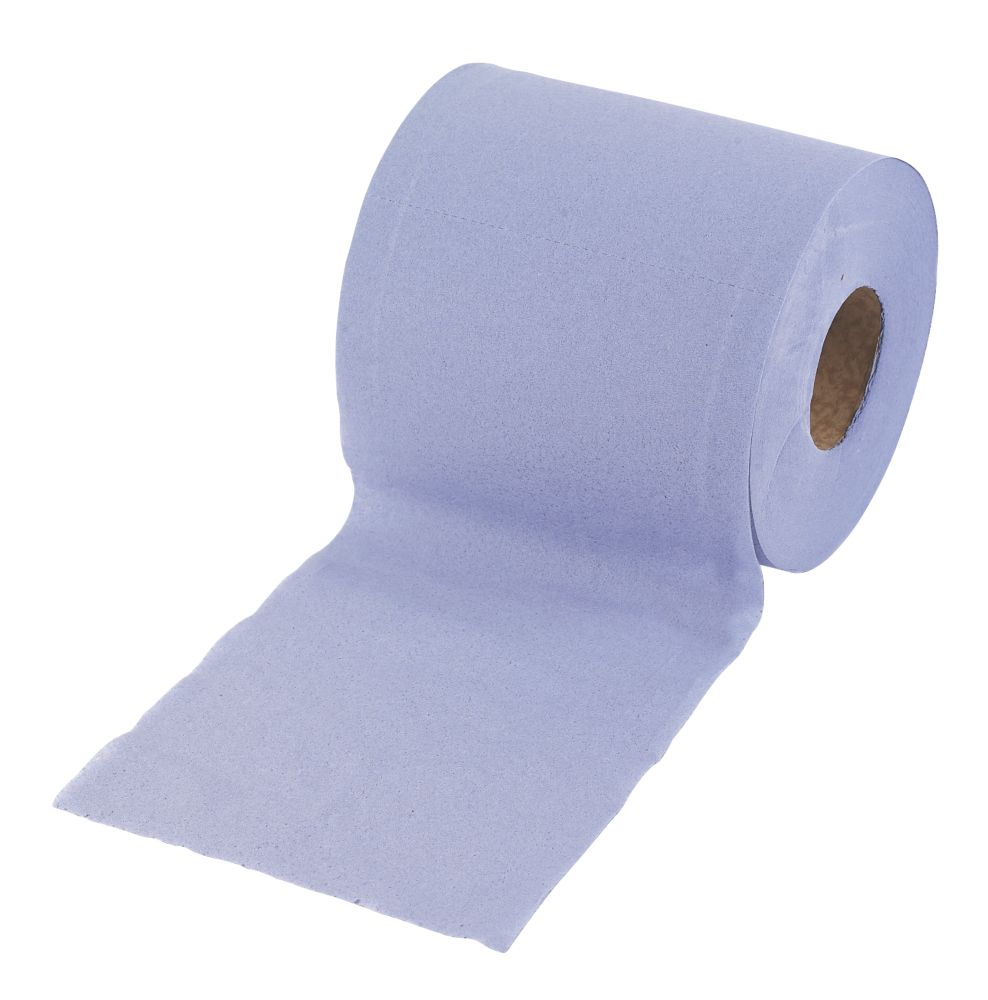 Blue Centre Feed Paper 2 Ply 20cm x 150m Pack of 6