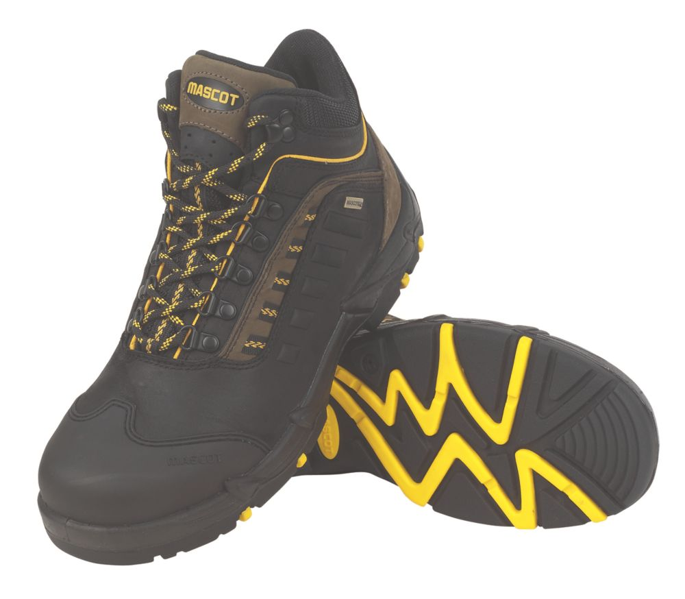 Mascot Kenya Safety Ankle Boots Black / Olive Size 11