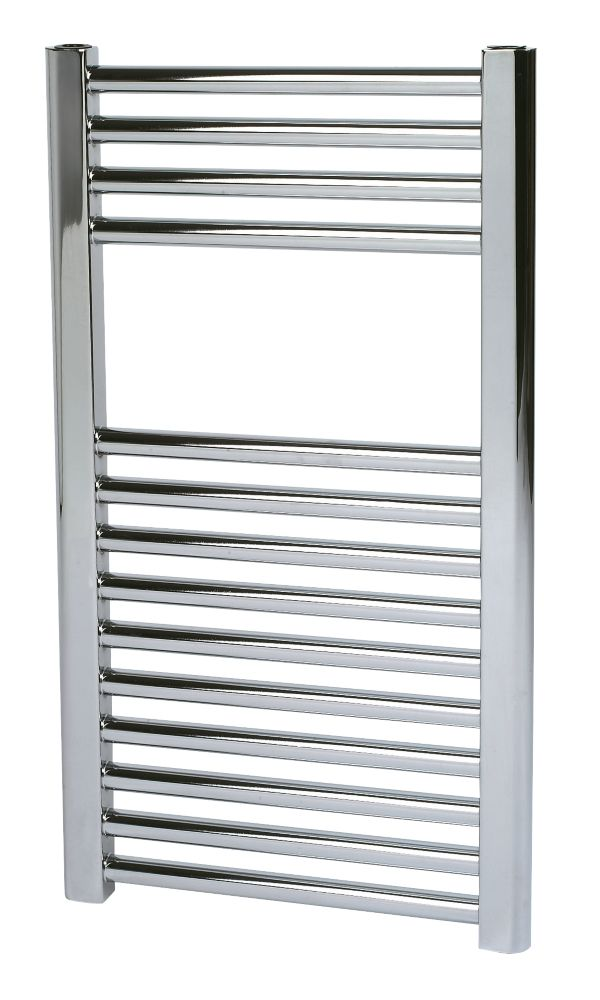 Kudox Flat Ladder Towel Rail Chrome 400 x 700mm 168W 573Btu