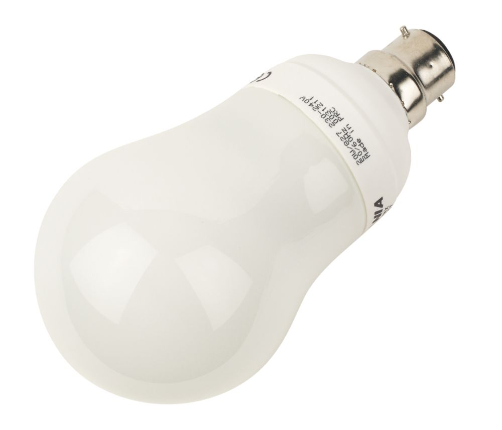 Sylvania Mini Lynx GLS Compact Fluorescent Lamp BC 1152Lm 20W