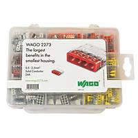 Wago Push-Wire Connector Set 24A 200 Pieces