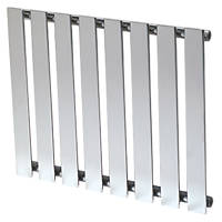 Reina Pienza Horizontal  Designer Radiator Chrome 550 x 655mm
