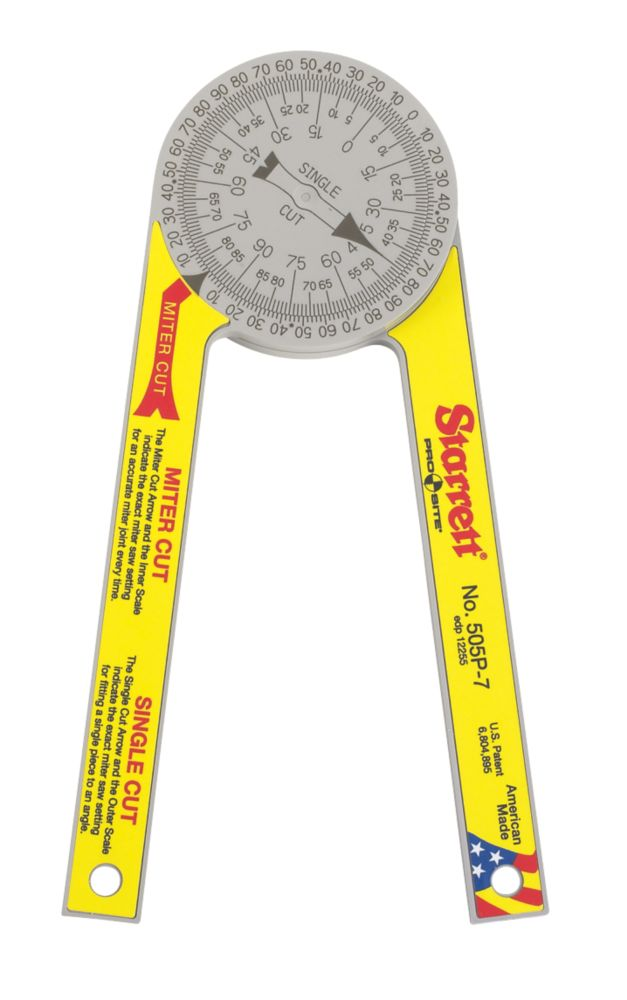 Starrett Pro Site Protractor 175mm