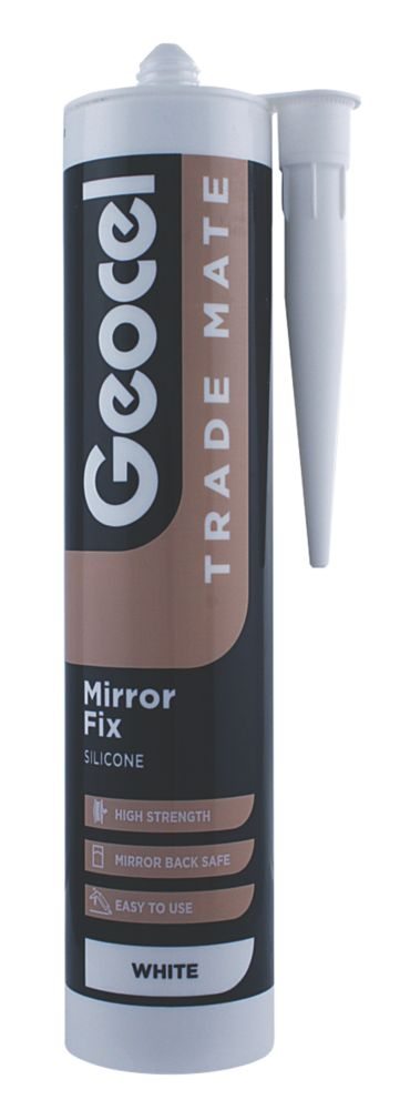 Geocel Trade Mate Mirror Fix (White)
