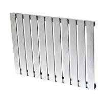 Reina Calix Horizontal Designer Radiator Stainless Steel 600 x 810mm