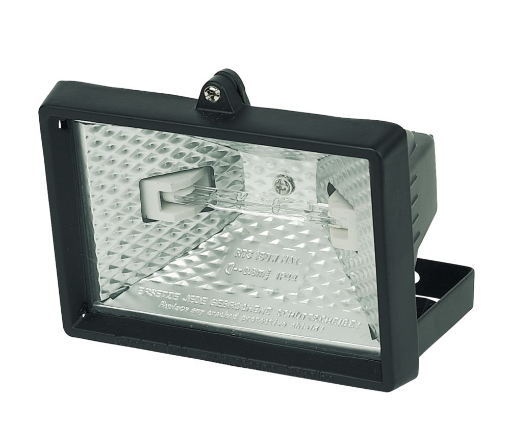 Security Floodlight 120W Black 2500Lm