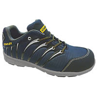 Stanley Globe Safety Trainers Navy Blue Size 9