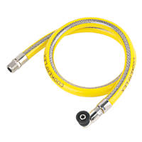 Micro Fitting LPG Cooker Hose 1m x ½""