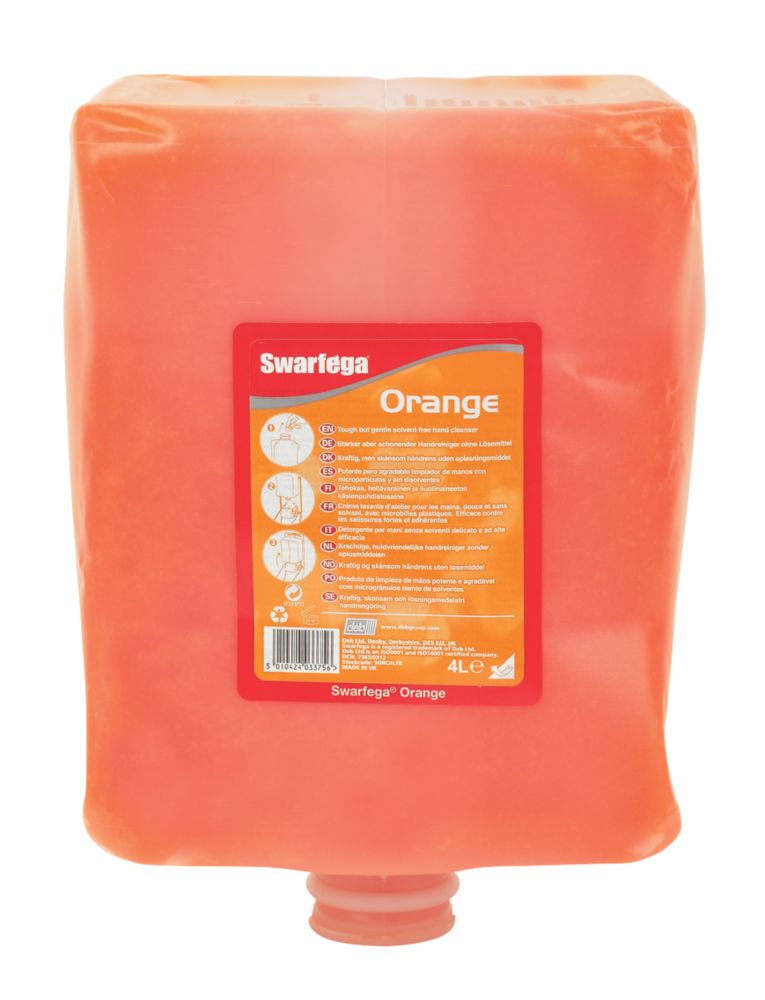 Swarfega Orange Hand Cleaner Cartridge 4Ltr