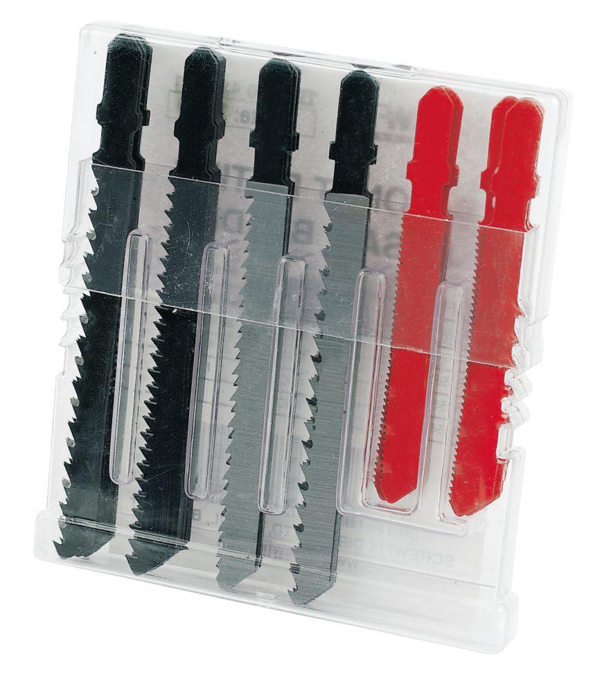 Titan Bayonet Fitting Jigsaw Blade Set 30 Pc