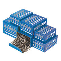 Silverscrew Woodscrews Trade Pack Double Countersunk 1400 Pcs