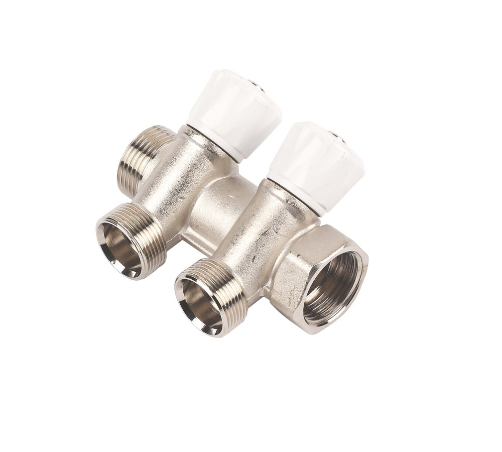 QPL 2-Way Valved Manifold