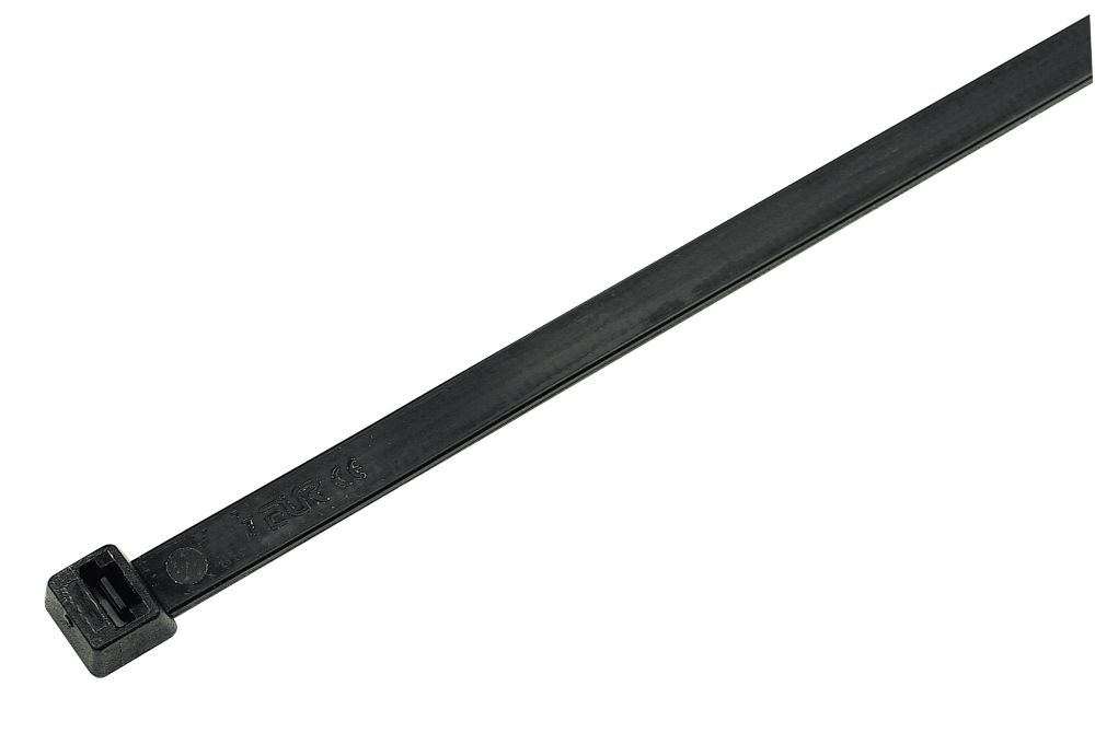 Cable Ties Black 450 x 10mm Pack of 100