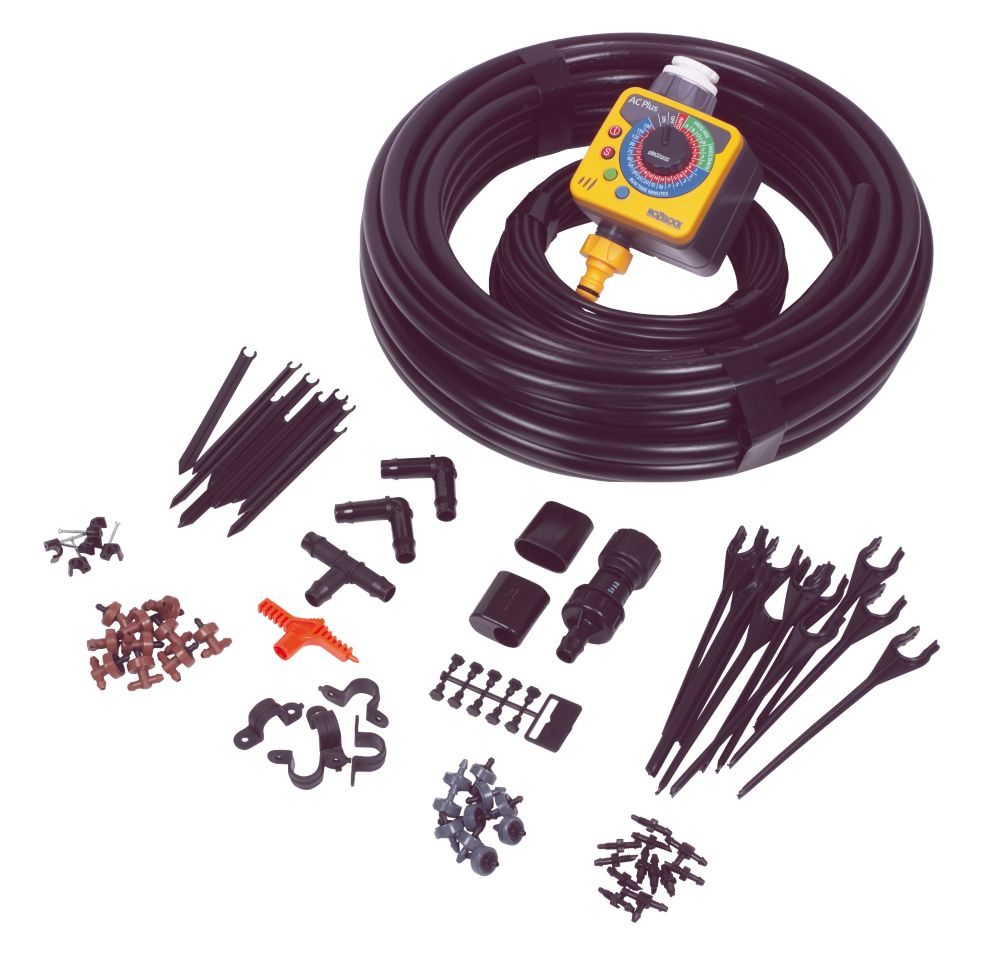 Hozelock Deluxe Auto Irrigation Kit with Timer