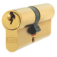 Eurospec Master Keyed Euro Cylinder Lock 45-50 (95mm) Polished Brass