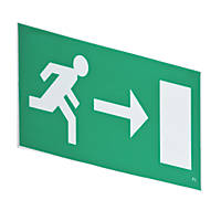 LAP Emergency Lighting Hanging Exit Right Sign