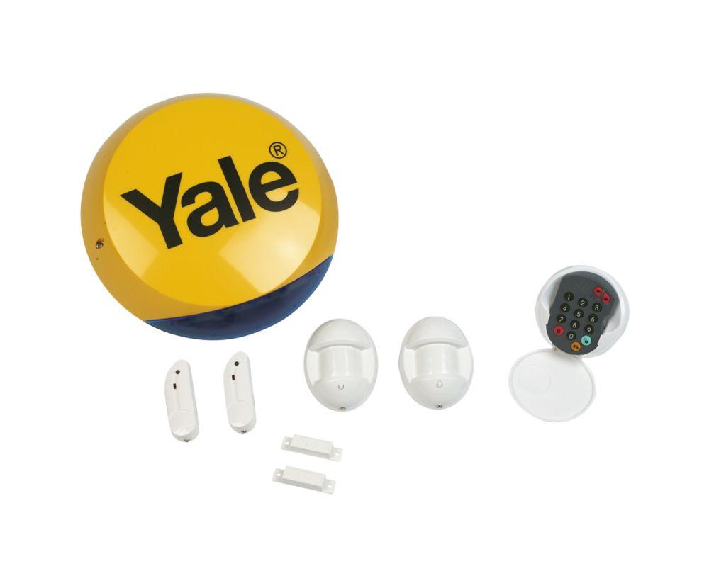 Yale Standard Wireless 4 Room Alarm Kit