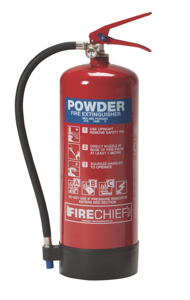 Firechief Fire Extinguisher Dry Powder 6kg