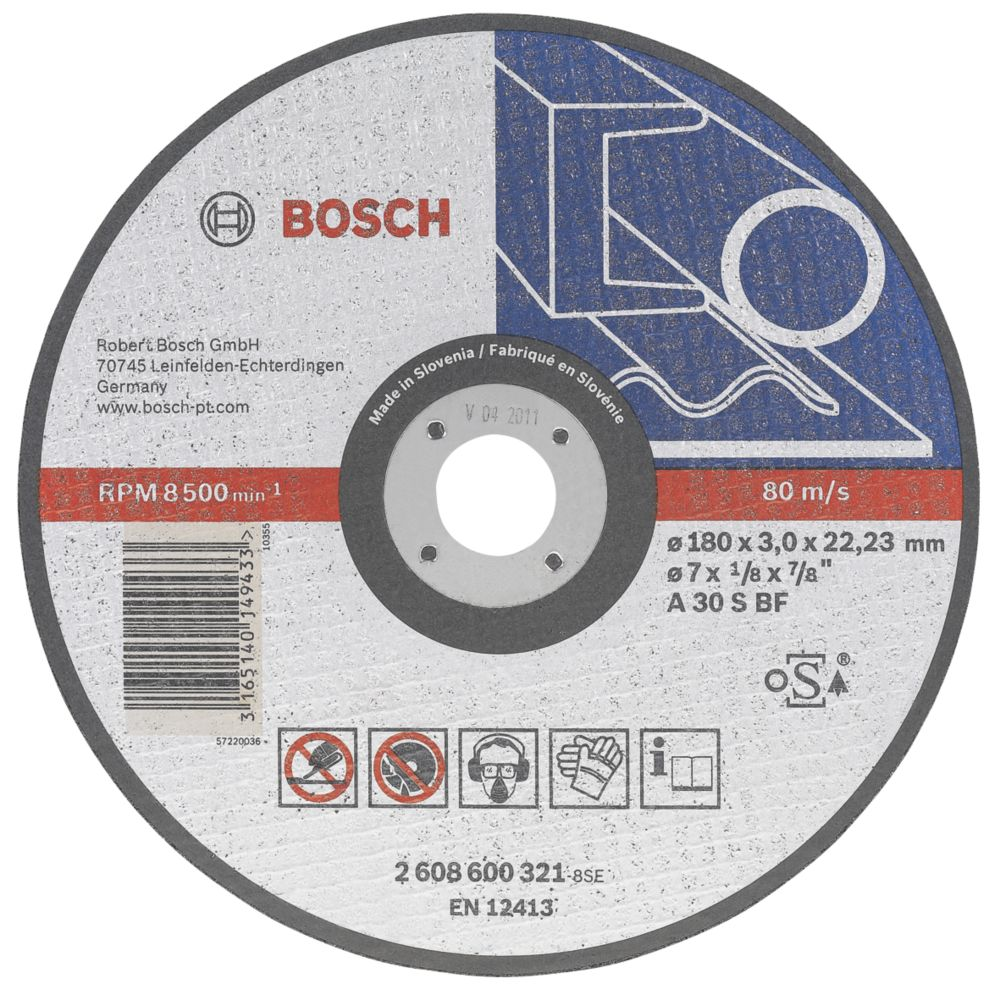 Bosch Metal Cutting Disc 115 x 22.2 x 2.5mm
