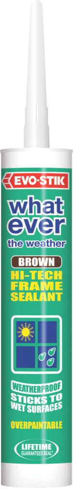 Evo-Stik Whatever the Weather Frame Sealant Brown 280ml