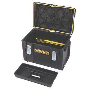 dewalt toughsystem ds400 large tool box plastic. Black Bedroom Furniture Sets. Home Design Ideas