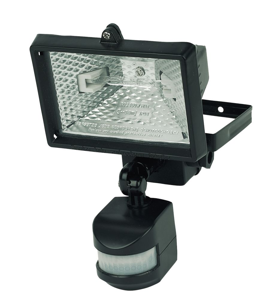 Floodlight 120W Black PIR Photocell 2250Lm