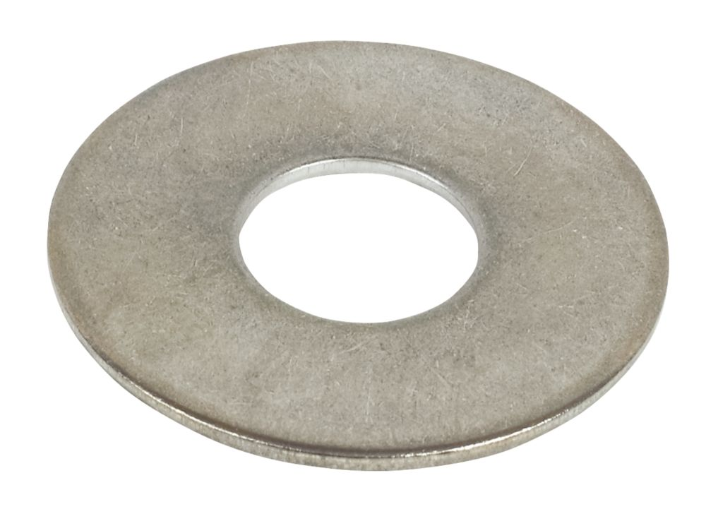A2 Stainless Steel Large Flat Washers M12 Pack of 10