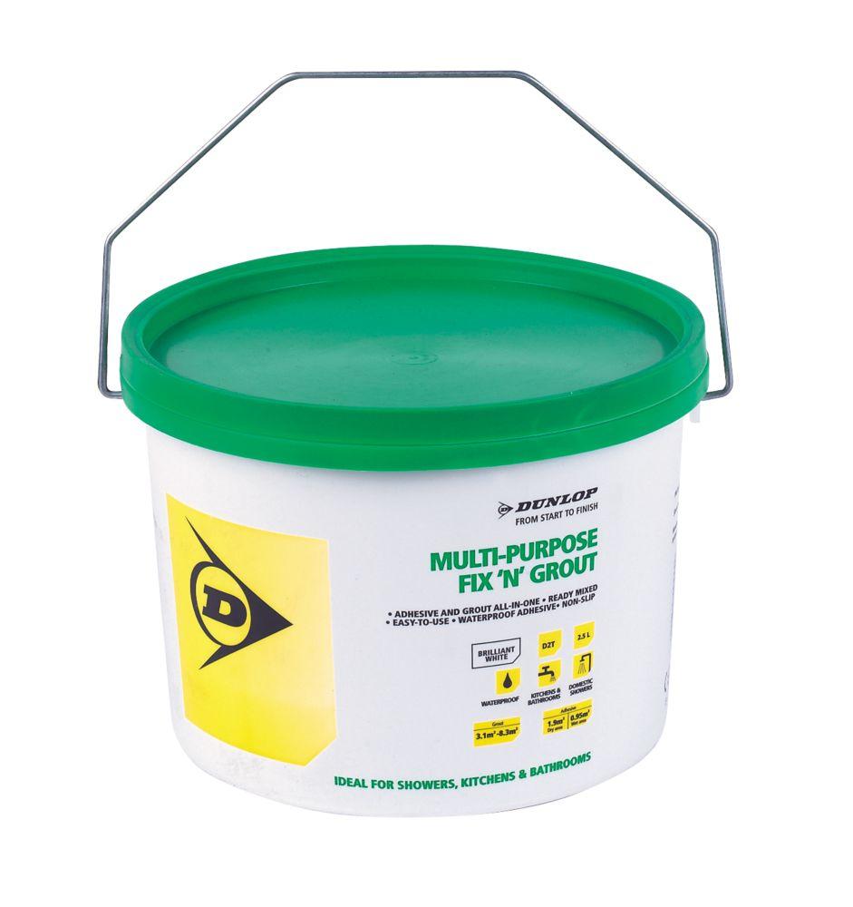 Dunlop Fix 'n' Grout Waterproof Adhesive