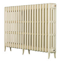 Arroll Neo-Classic 4-Column Cast Iron Radiator Cream 760 x 1234mm