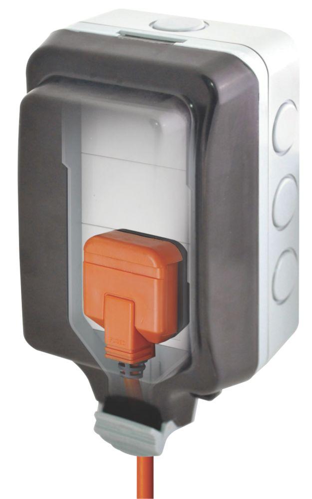 BG 13A 1G Unswitched Weatherproof Socket