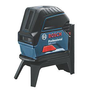 bosch gcl 2000 self levelling cross line laser laser levels. Black Bedroom Furniture Sets. Home Design Ideas