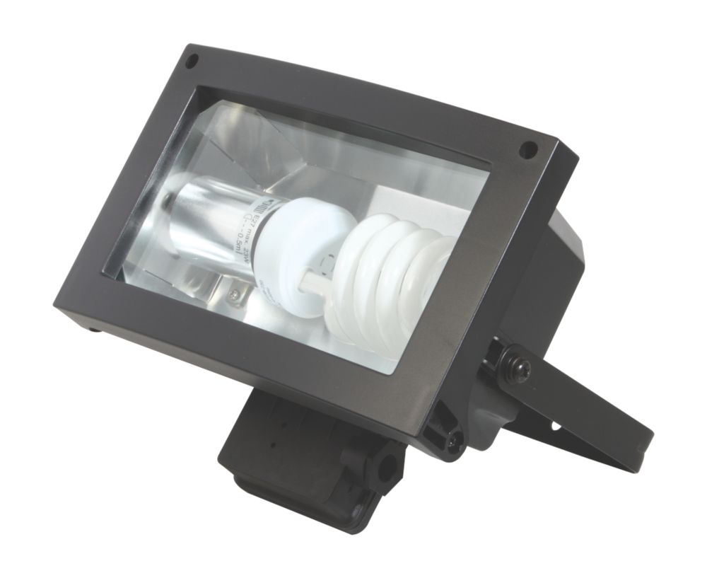 Energy Saving CFL Floodlight Black 23W